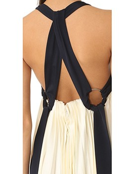 Sleeveless Pleated Maxi Dress by 3.1 Phillip Lim