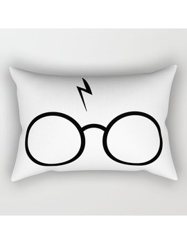 Spectacle Boy Rectangular Pillow by
