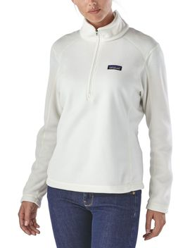Patagonia Women's Micro D Quarter Zip Pullover by Patagonia