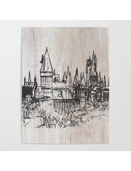 Hogwarts School Of Witchcraft And Wizardry Poster by