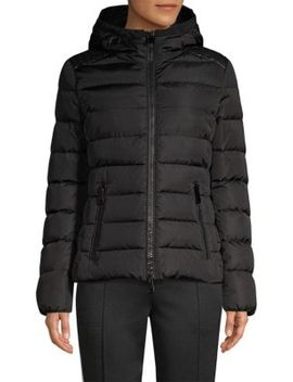 Tetras Matte Down Jacket by Moncler