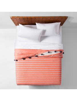 Seine Pom Pom Stripe Quilt   Opalhouse™ by Shop Collections