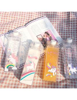 500ml Fantastic Unicorn Cartoon Bottle Summer Travel Outdoor Sports Water Cup by Ebay Seller