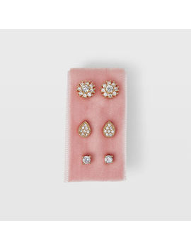 Serefina Teardrop Stud Card by Club Monaco