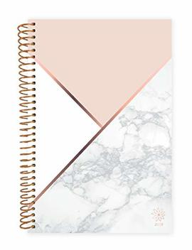 "Bloom Daily Planners 2019 Calendar Year Day Planner   Passion/Goal Organizer   Monthly And Weekly Dated Agenda Book   (January 2019   December 2019)   6"" X 8.25""   Color Blocking Marble by Bloom Daily Planners"