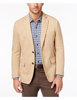 Men's Emilio Knit Stretch Blazer, Created For Macy's by Tasso Elba