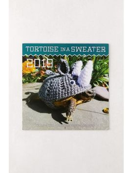 2019 Tortoise In A Sweater 12 Month Wall Calendar by Urban Outfitters