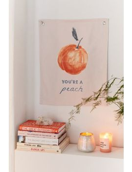You're A Peach Flag Tapestry by Urban Outfitters