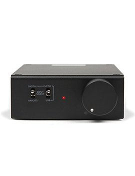 Micca Ori Gain Compact Stereo Integrated Amplifier And Dac, 50 W X 2, 96k Hz/24 Bit, Usb And Optical S/Pdif (Black) by Micca