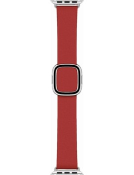 Leather Modern Buckle For Apple Watch™ 40mm   Medium   Ruby by Apple