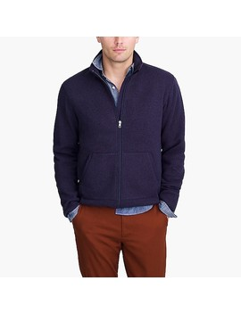 Sweater Fleece Full Zip by J.Crew