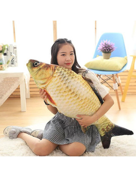 Hot Cute Staffed Soft Animal Fish Plush Toys Pillow Creative Pillow Cushion Gift Kids Toy Christmas Gifts Lxy9 De17 by Dustproofveil