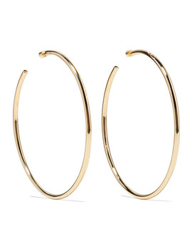 Lilly Gold Plated Hoop Earrings by Jennifer Fisher