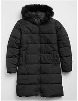 Long Down Puffer Jacket by Gap