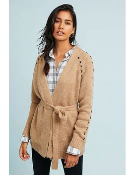 Civita Belted Cardigan by Moon River