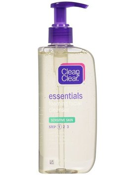 Clean & Clear Essentials Foaming Facial Cleanser Sensitive Skin, 8 Ounce (Pack Of 2) by Clean & Clear