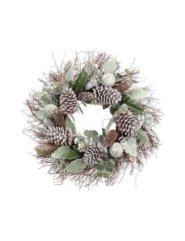 Cactus & Pinecone Wreath by Allstate