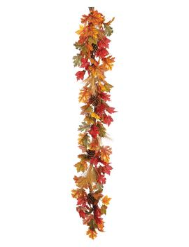 Maple, Oak & Pinecone Garland by Allstate