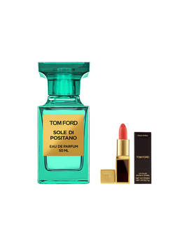 Tom Ford Private Blend Sole Di Positano Eau De Parfum, 50ml With Deluxe Lip Colour by Tom Ford