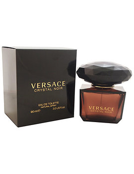 Versace Women's Crystal Noir 3oz Eau De Toilette Spray by Versace