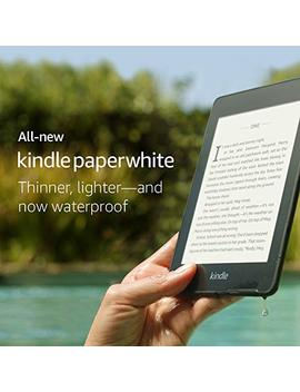 All New Kindle Paperwhite – Now Waterproof With 2x The Storage – Includes Special Offers by Amazon
