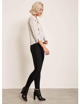 Maryland Velvet Stripe Jean by Mint Velvet