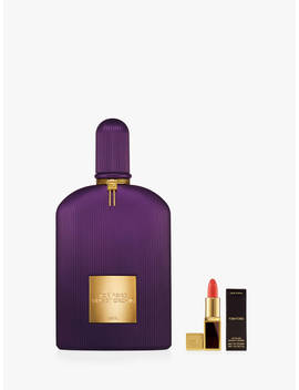 Tom Ford Velvet Orchid Lumière Eau De Parfum, 100ml With Deluxe Lip Colour by Tom Ford