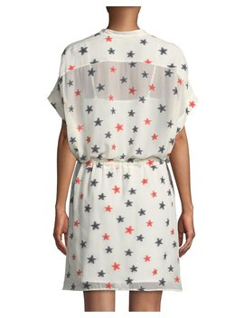 Lary Star Print Shirtdress by Rag & Bone