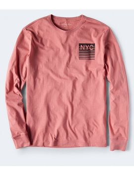 Long Sleeve Nyc Graphic Tee by Aeropostale