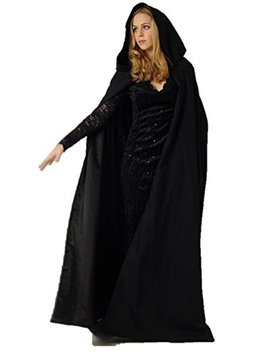 Ridge & Queens New Full Length Deluxe Velvet Cloak/Cape With Lined Hood For Adults by Ridge & Queens