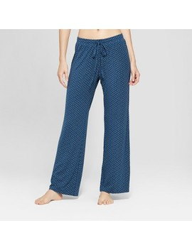 Women's Total Comfort Pajama Pants   Gilligan & O'malley™ Blue by Gilligan & O'malley™
