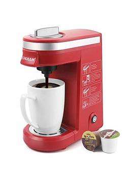 Chulux Single Cup Coffee Maker Travel Coffee Brewer,Red by Chulux