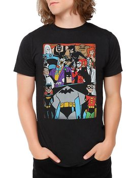 Dc Comics Batman: The Animated Series Characters T Shirt by Hot Topic