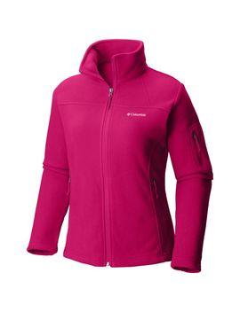 Women's Fast Trek™ Ii Full Zip Fleece Jacket — Plus Size by Columbia Sportswear