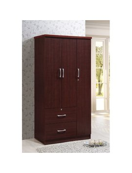 Winston Porter Blankenship 3 Door Armoire & Reviews by Winston Porter