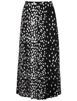 Georgia Leopard Print Silk Skirt by Rixo London