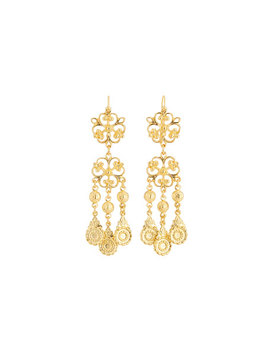 Filigree Dangle Earrings by Jose & Maria Barrera