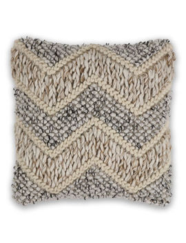 Kas Elements Square Throw Pillow by Kas