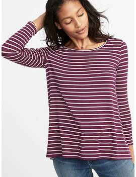 Luxe Swing Tee For Women by Old Navy