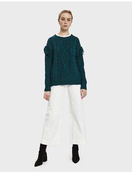 Jodee Fringe Detail Sweater by Stelen