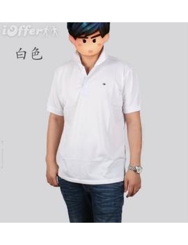 Latest Men's Lapel Short Sleeved T Shirt Tm930 S  5 Xl by I Offer