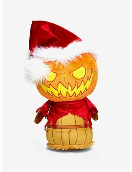 Funko The Nightmare Before Christmas Super Cute Plushies Pumpkin King Santa Collectible Plush Hot Topic Exclusive by Hot Topic