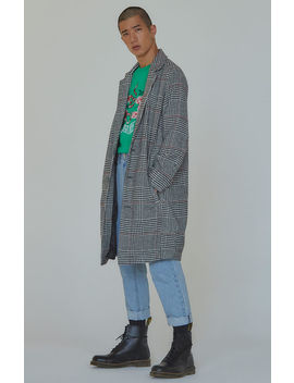 Pac Sun Editor's Choice Walter Plaid Overcoat by Pacsun