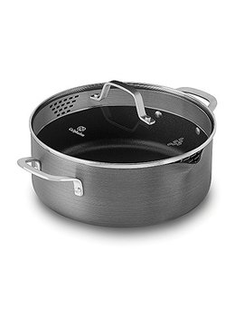 Calphalon Classic Nonstick Dutch Oven With Cover, 5 Quart, Grey by Calphalon