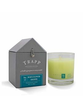 Trapp Signature Home Collection No. 13 Bob's Flower Shoppe Poured Scented Candle, 7 Ounce by Trapp