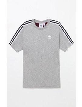 Adidas B Sides Trefoil Grey T Shirt by Pacsun