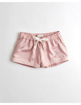 Satin Sleep Shorts by Hollister