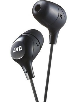 Jvc Memory Foam Earbud Marshmallow Memory Foam Earbud With Mic Black (Hafx38 Mb) by Jvc