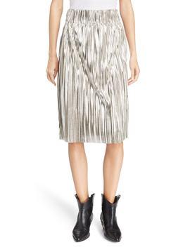 Isabel Marant Étoile Delphina Metallic Skirt by Isabel Marant Etoile