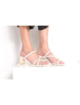 """""""Intentionally           ."""" Willow Sandal   Cream by Garmentory"""